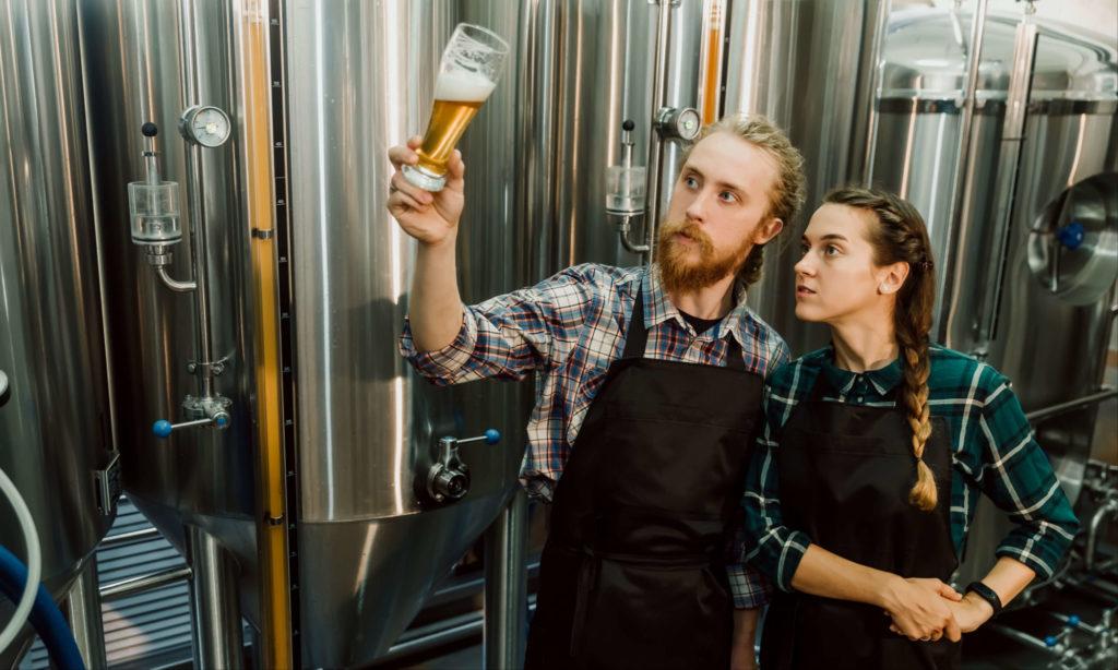 ビール醸造の写真